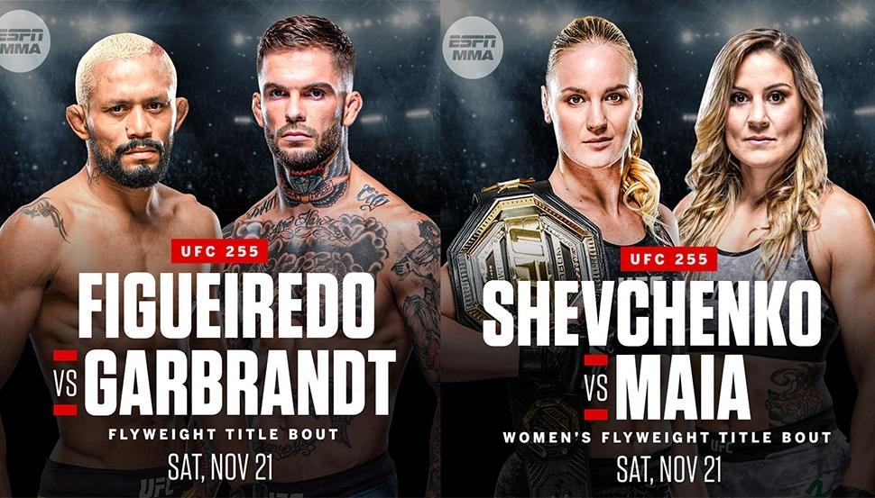 Фигередо – Гарбрандт и Шевченко – Майя на UFC 255
