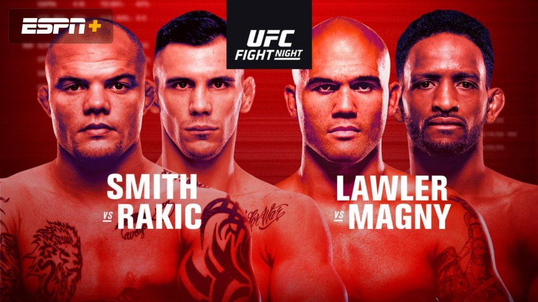 Битва взглядов перед UFC  Fight Night 175: Смит vs Ракич