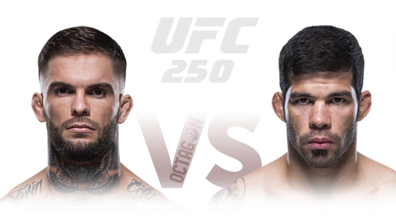 Ассунсао – Гарбрандт прогноз на UFC 250