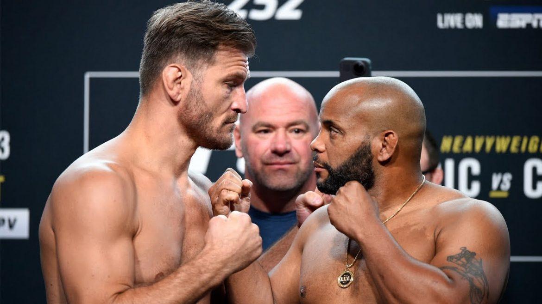 Взвешивание UFC 252: Кормье тяжелее Миочича