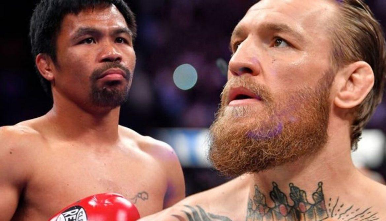 Макгрегор проведет боксерский поединок с Мэнни Пакьяо?