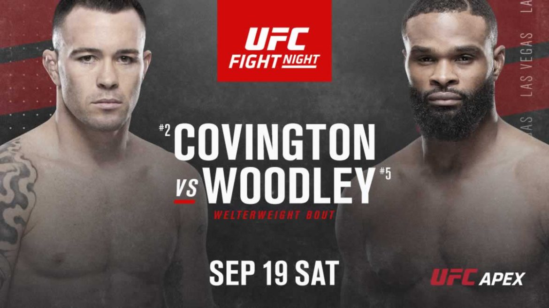 Битва взглядов UFC Vegas 11: Ковингтон vs Вудли (Видео)