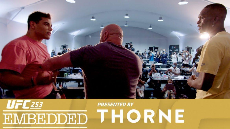 Превью к UFC 253: Embedded (Эпизод пятый)