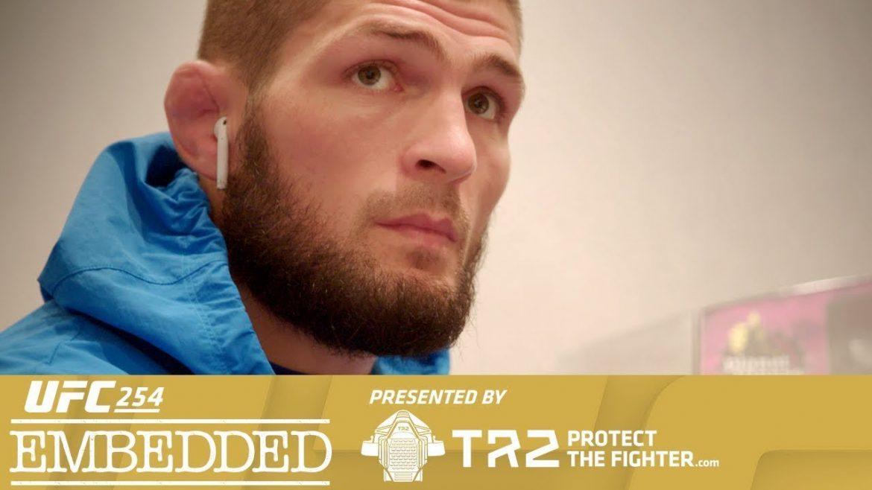 Превью к UFC 254: Embedded (Эпизод четвертый)