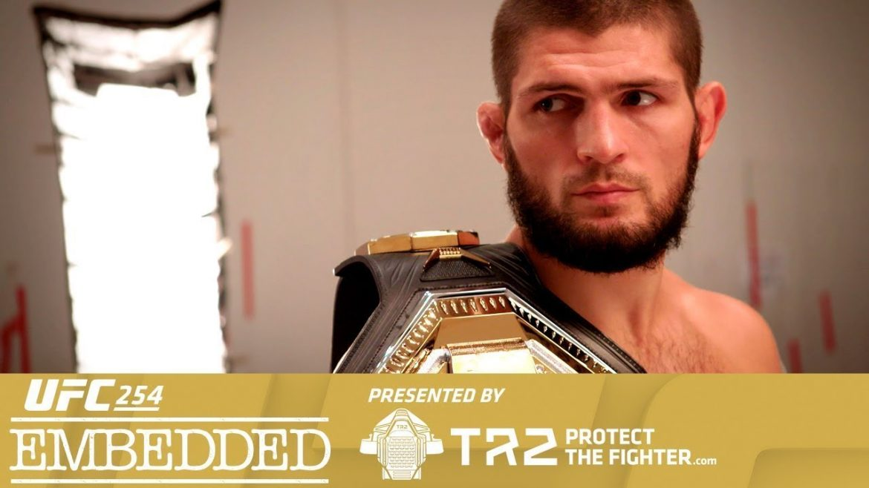 Превью к UFC 254: Embedded (Эпизод третий)