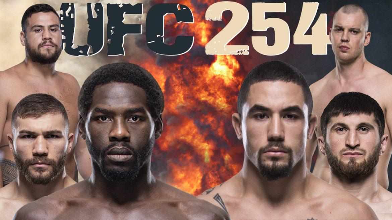 Превью UFC 254: какие бои стоит посмотреть?