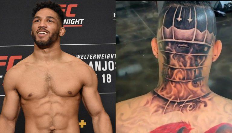 Ли показал новую татуировку