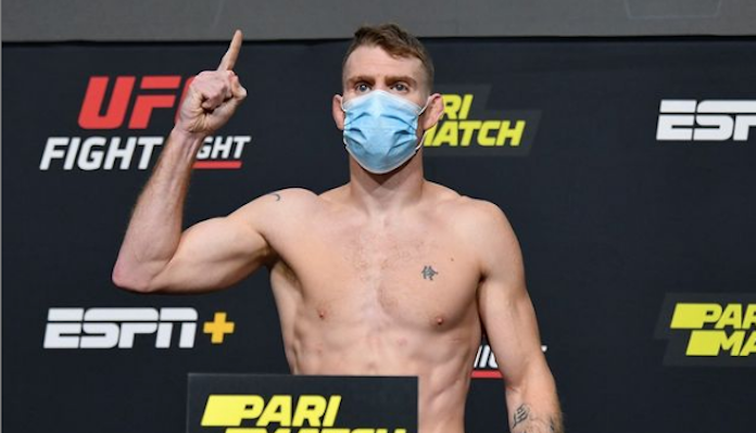 UFC Vegas 14: Пол Фелдер сделал вес за 5 дней! (Видео)