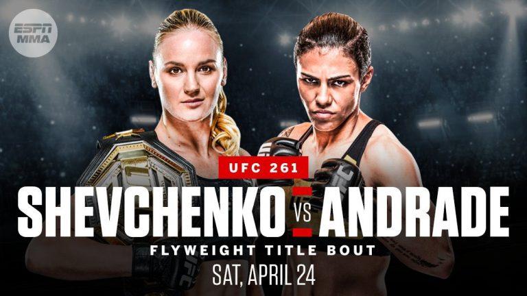 Шевченко Андраде UFC 261