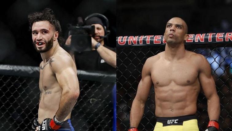 Эдсон Барбоза против Шейна Бургоса на UFC 262