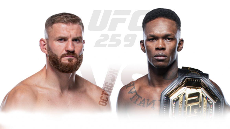 Исраэль Адесанья – Ян Блахович прогноз на UFC 259