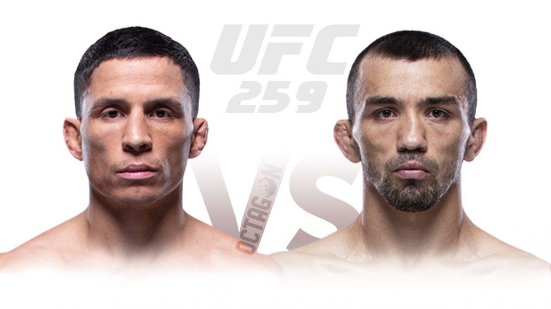 Джозеф Бенавидез – Аскар Аскаров прогноз на UFC 259
