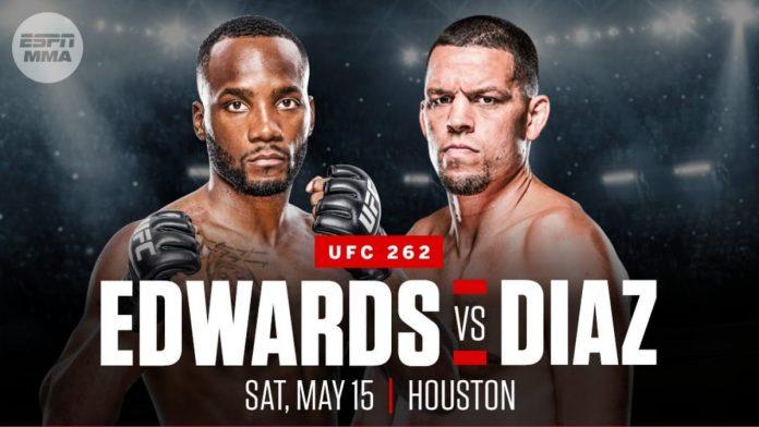 Исторический поединок: Нэйт Диас против Леона Эдвардса на UFC 262