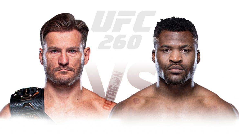 Стипе Миочич – Фрэнсис Нганну 2 прогноз на UFC 260