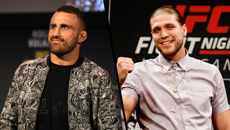 Александр Волкановски и Брайан Ортега возглавят новый сезон The Ultimate Fighter?