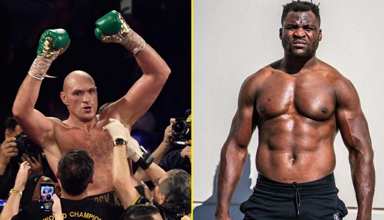 Фрэнсис Нганну заинтересован в боксерском поединке с Тайсоном Фьюри