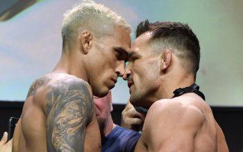 Пресс-конференция битвы взглядов UFC 262