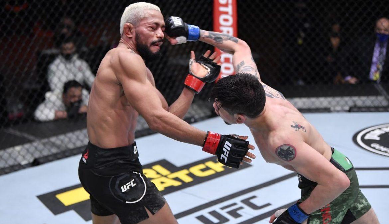 Брэндон Морено — новый чемпион наилегчайшего веса UFC