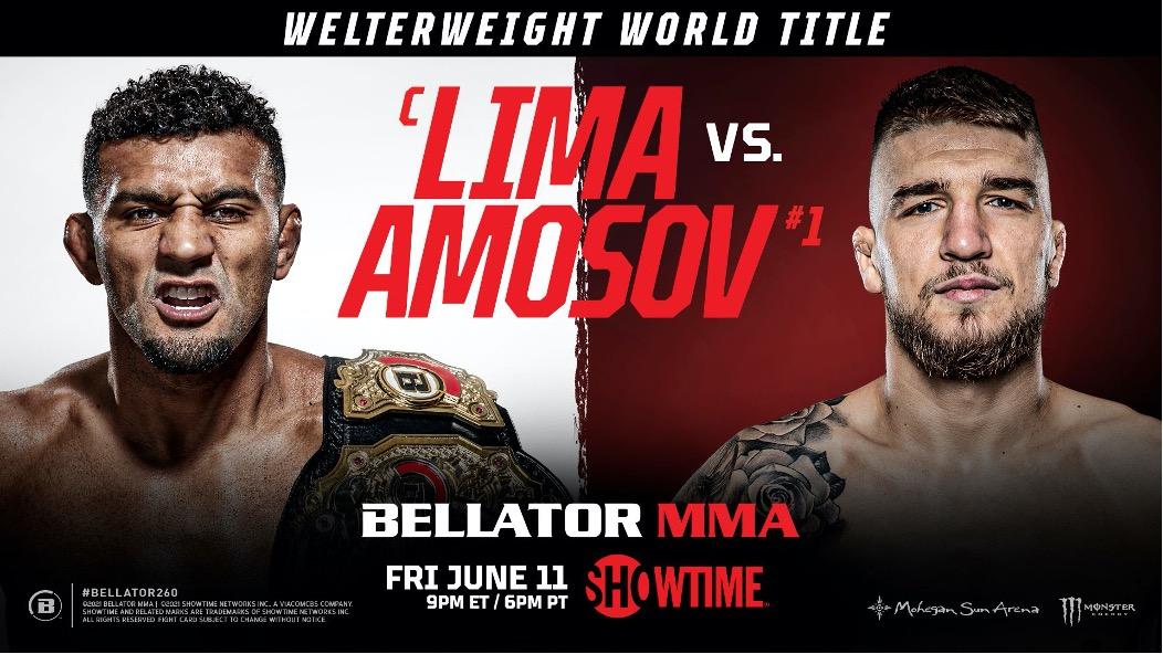 Интересные факты перед Bellator 260: Ярослав Амосов выходит на титульный бой с рекордом 25-0