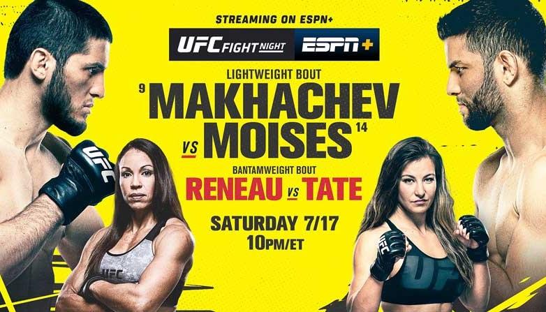 Бонусы UFC Vegas 31: Тейт получила 50 тысяч в первом же бою после возвращения